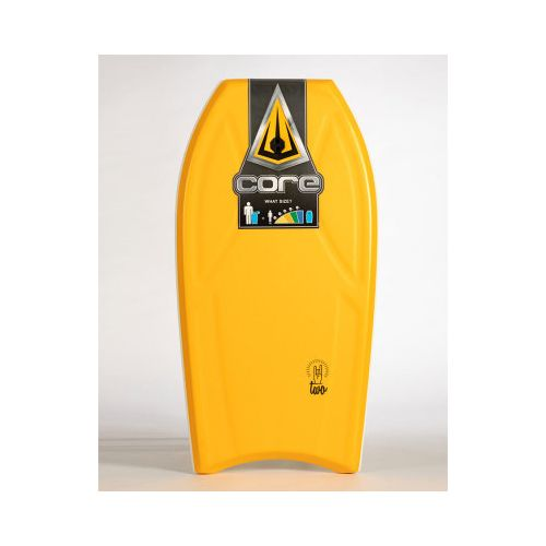 Bodyboard Core Two 1 stringer-44''-Naranja