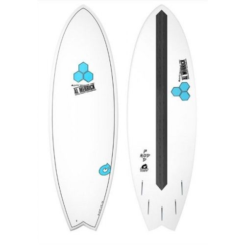 Tabla de surf Al Merrick Pod Mod white 5'10''