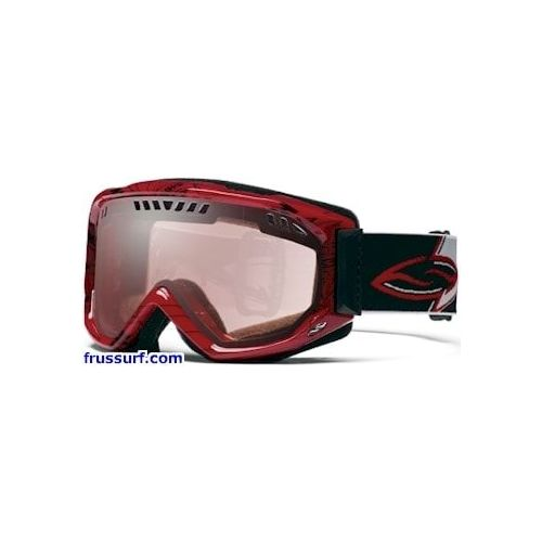 Gafas de ventisca-Goggles Smith Airflow Series Scope Graphic red black