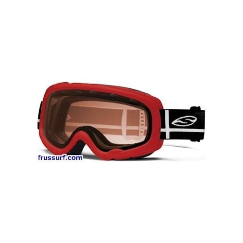 Gafas de ventisca-Goggles Smith Gambler Junior red