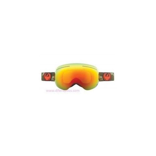 Gafas de ventisca Googles Nike-Dragon APX Anthracite / Red