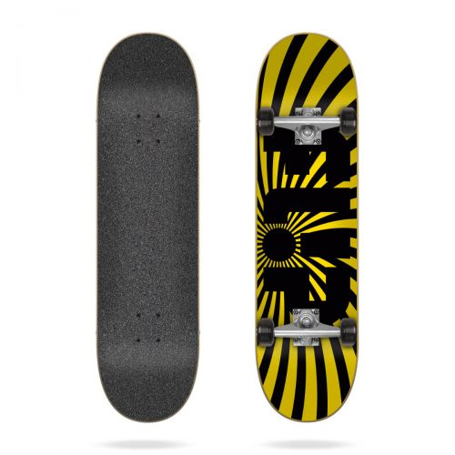 Skate completo Flip Spiral yellow 8'0'' x 31,85''