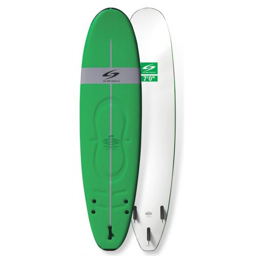 softboard-surftech-L2S-blacktip-7-0-verde-blanco