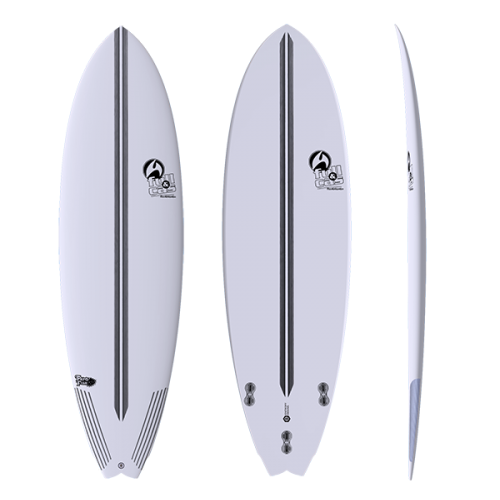 Tabla de surf Full&Cas Epoxy F-Pando Fish