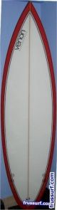 Tabla de surf Venon Fibra Flow 5'10''