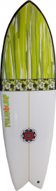 Tabla de surf Atisha Retro Fish 5'8''