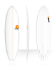 Tabla de surf Torq Fish Pinline 6'10'' white
